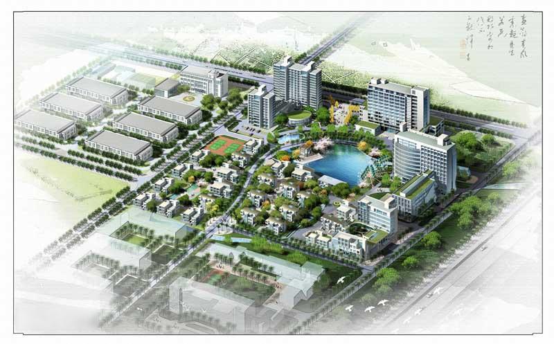 国家级泰州医药高新技术产业园区(中国医药城)-1