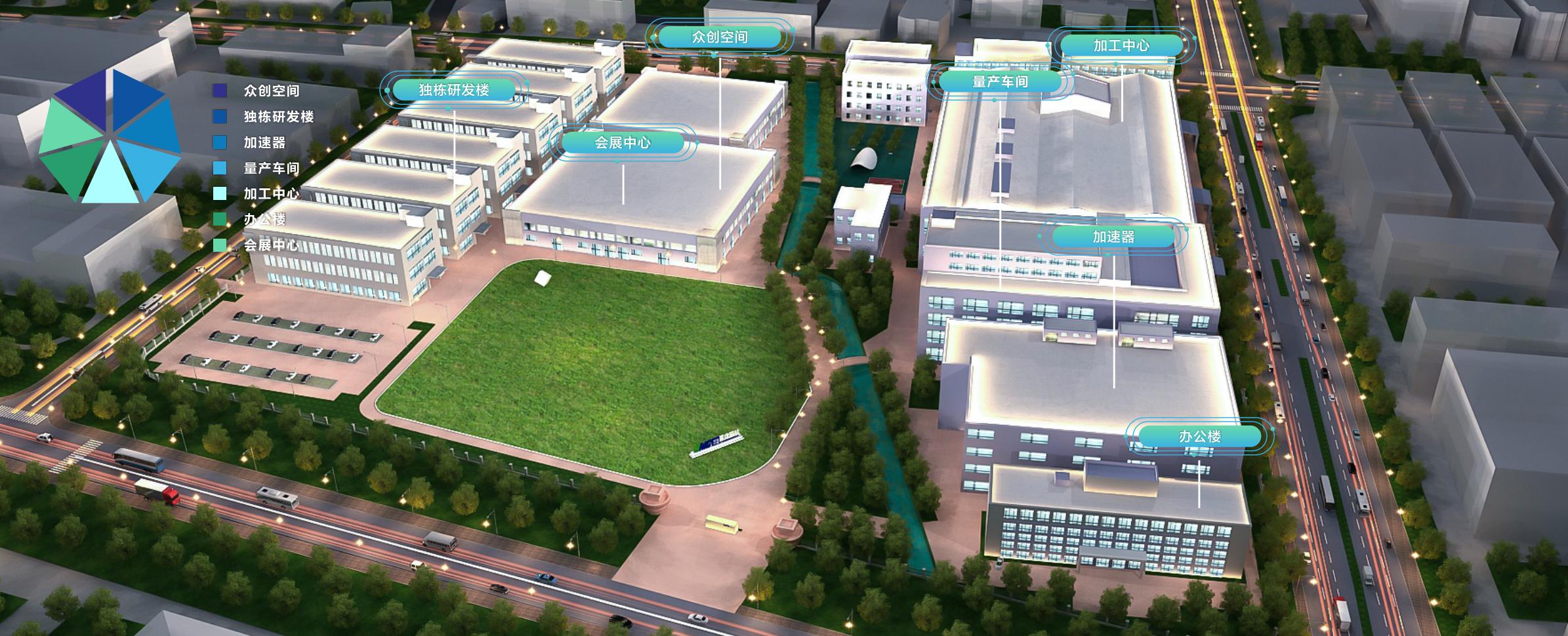 绍兴越城医疗器械产业创新服务综合体-1