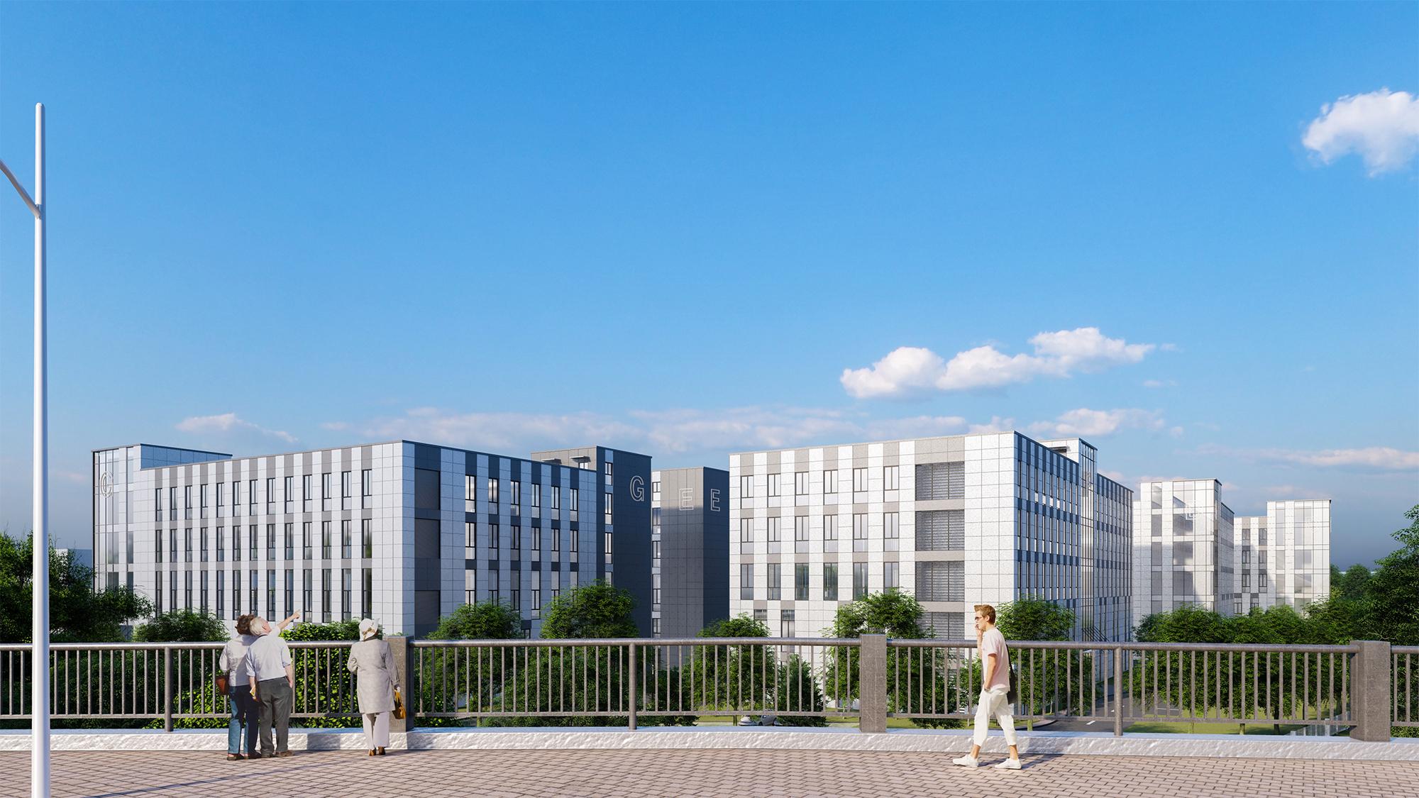 苏州园区重建新虹产业园