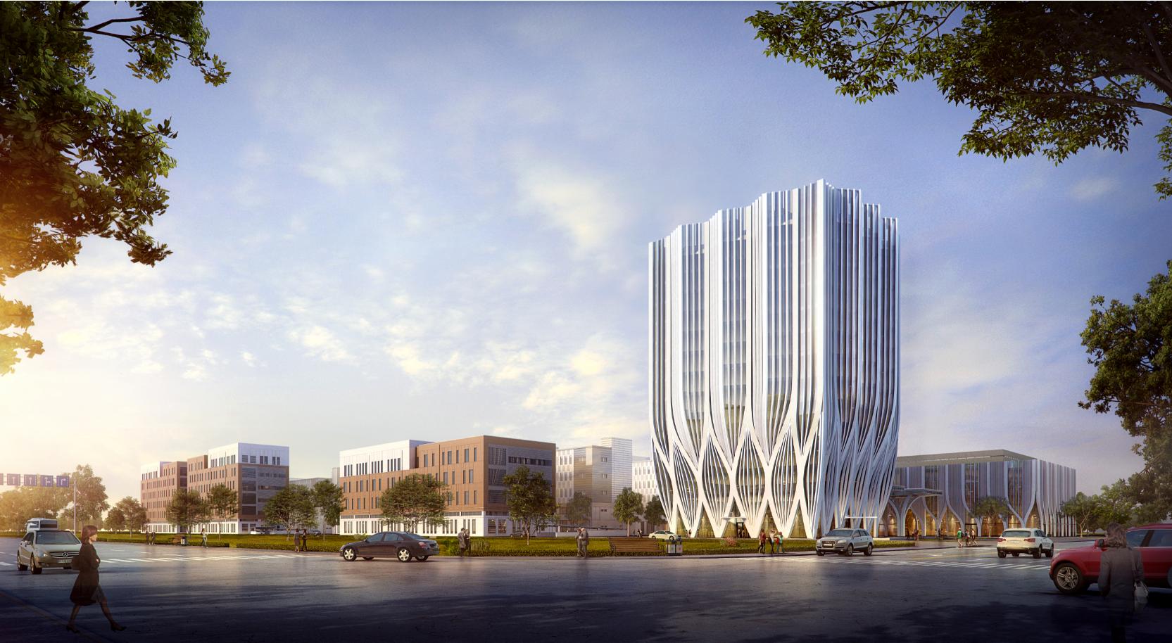中新天津生态城生物医药产业园