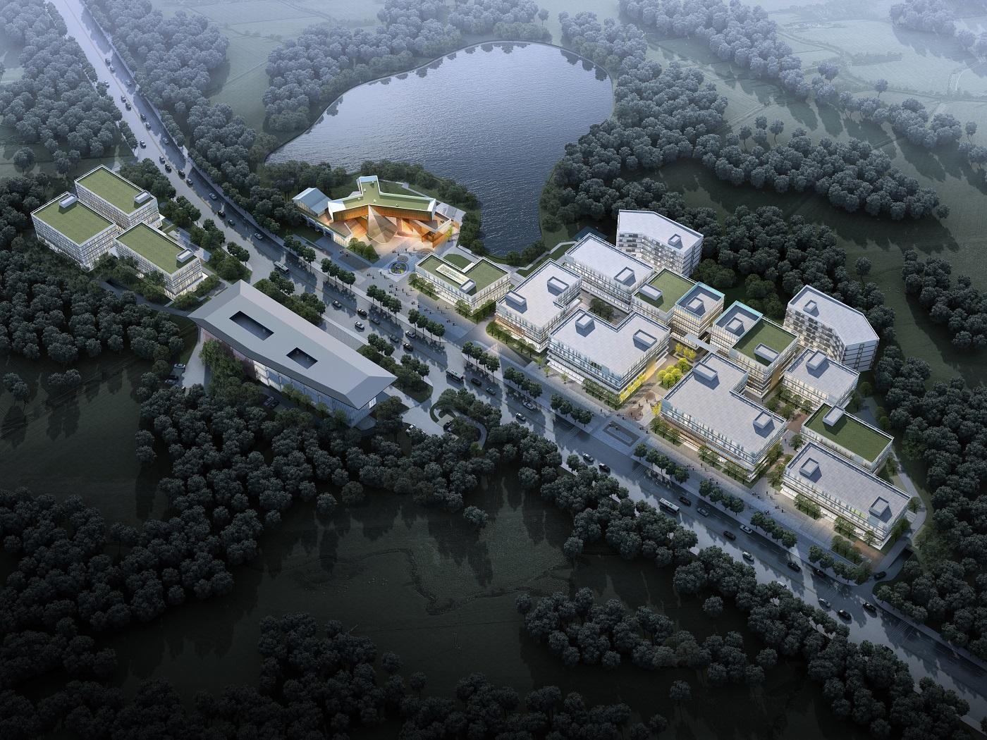 合肥肥东县长临河科创小镇