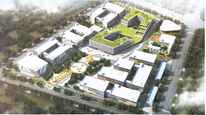 武汉国家生物产业基地荆门生物产业园-1